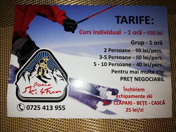 tarife ski
